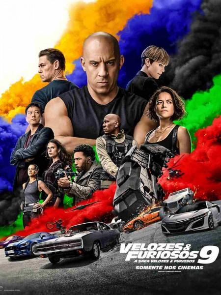 Poster do filme Velozes & Furiosos 9