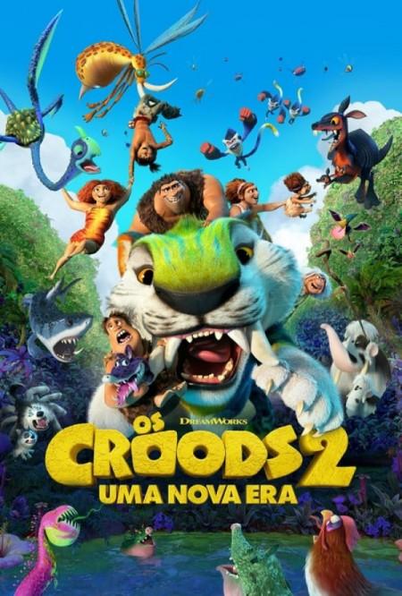 Poster do filme Os Croods 2: Uma Nova Era