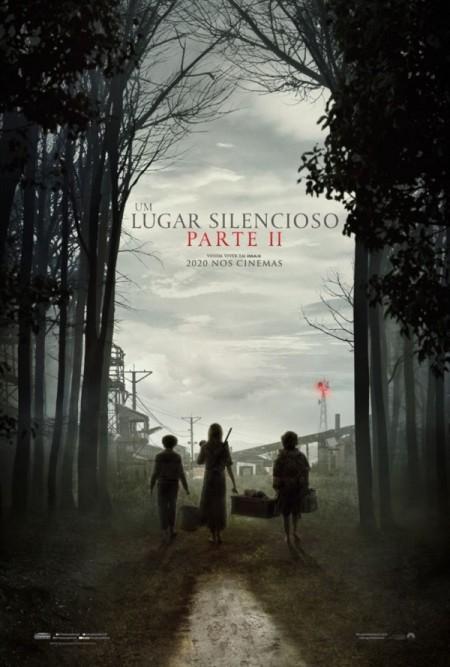 Poster do filme Um Lugar Silencioso - Parte II