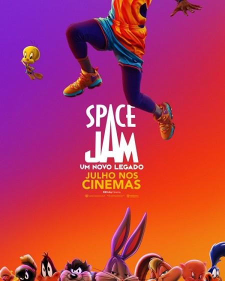 Poster do filme Space Jam: Um Novo Legado