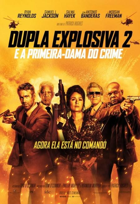 Poster do filme Dupla Explosiva 2 - E a Primeira Dama do Crime