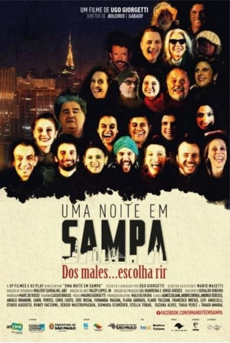 Poster do filme Uma Noite em Sampa