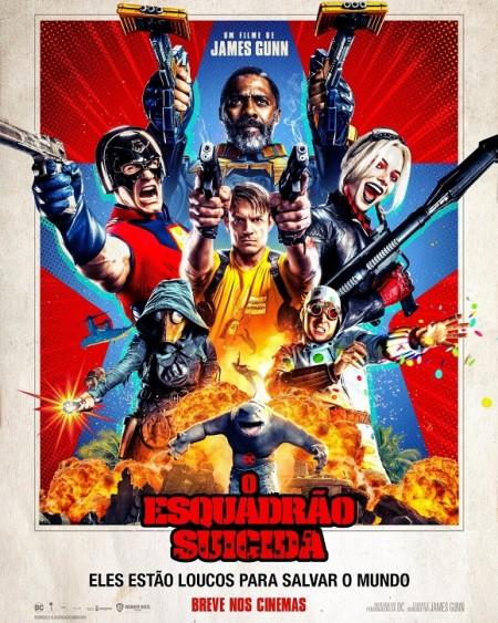 Poster do filme O Esquadrão Suicida