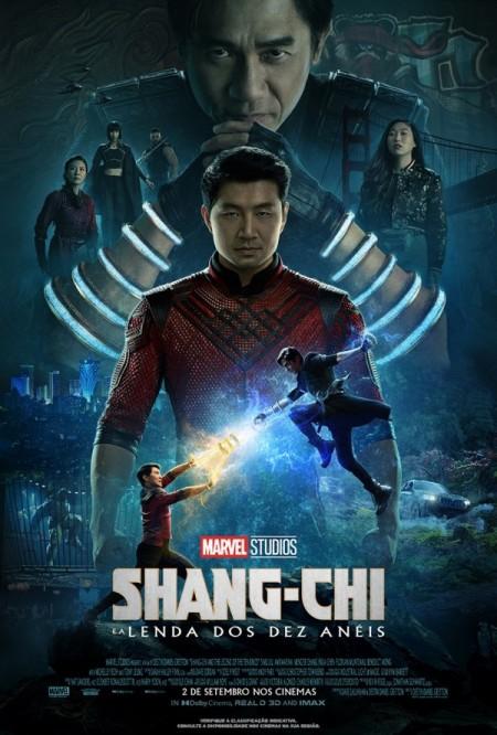 Poster do filme Shang-Chi e a Lenda dos Dez Anéis