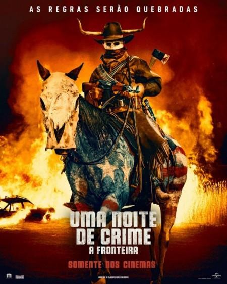 Poster do filme Uma Noite de Crime: A Fronteira