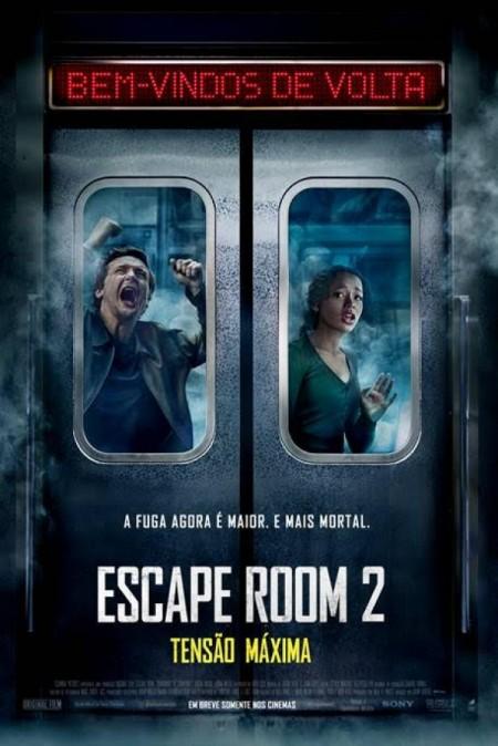 Poster do filme Escape Room 2 - Tensão Máxima